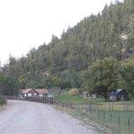 Landmark along NF 422:  Ranger Station