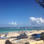 Gorgeous beach sand like silk