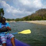 Sam guiding us down the Copalita River