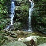 Waterfall near Ship Cove.