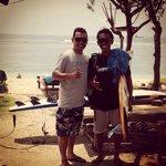 Enjoy surfing lesson with Desu..