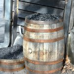 Charcoal for filtering the Bourbon into Tennessee Whiskey