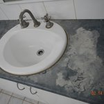 Bathroom Sink Stains