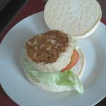 Quarter pound chicken burger  at Picnic Pantry Broadstairs