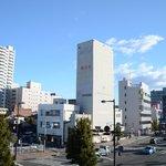 この道を右に進むと高崎駅でつらい距離ではありません。