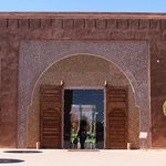 La porte d'entrée sur le boulevard Mohamed VI