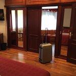 Vista dalla camera verso il salotto