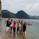 Halong bay tour with Karine Lim Lih Peng's group