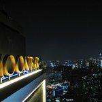 Moon bar at the top of Banyan Tree