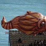 Un gros poisson carnevalesque