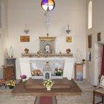 Sa chapelle consacrée