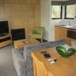 Kitchenette, lounge, dining room