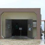 海中公園の建物の入口