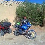 raid à moto