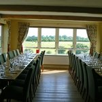Great Views over the Golf Course Seating a Party of 34  in theDinning Room