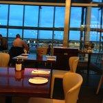 View across the restaurant