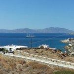 unser Blick rüber nach Naxos