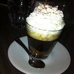 Café nutella chantilly