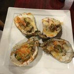 Razorback Oysters....more YUM!