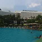 Pana facing the hotel