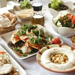 some of our Mezze dishes