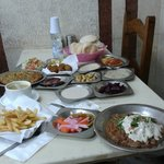 Very nice, Egyptian breakfast, lunch or dinner. It's completely vegetarian and has the same kind