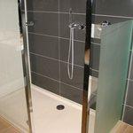 Bathroom (huge walk-in shower with rain shower)