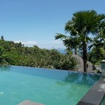 View from pool villa