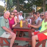 Fun time with friends at Tortuga Island