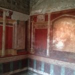 Exquisite wall-painting in the house of Augustus/Livia