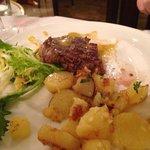 An excellent fillet steak bernaise