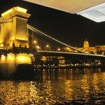 ponte delle catene-crociera sul Danubio