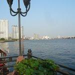 船着き場付近の眺め
