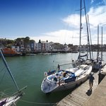 Weymouth Harbour (2 mins walk from hotel)