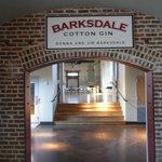 L'ala dell'edificio ricavato dal cotton gin dove ha lavorato BB King
