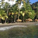 Our favorite beach, Anse Mamim