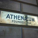 Athenaeum Sign