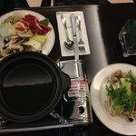 Dîner-buffet : fondue chinoise