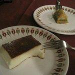 Kazanbasi custard sweet
