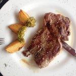 Carne roja a la plancha (menu)