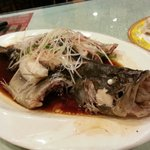 Steamed Chinese Perch - Hong Kong Style