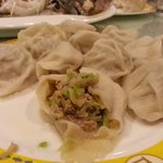 Mutton Dumpling with spinach