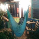 hammock outside room