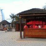 Strand mit burj al arab