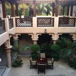 Innenhof der Villa