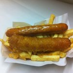 Sausages n Chips