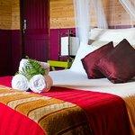 Marimba's colourful bedroom