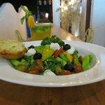 Horia Tiki - Greek Salad, sounds Japanese, tastes awesome.