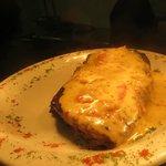the 'Hot Orange Steak' dinner special
