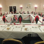 Another view of our table setting